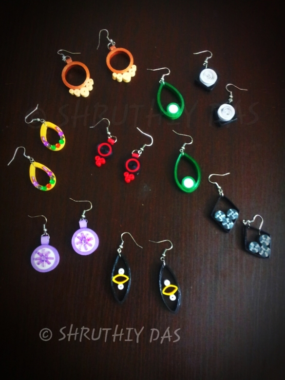 Quilled Contempo earrings :)
